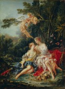 Юпитер и Каллисто - Буше, Франсуа