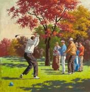 Игра в гольф, осень - Сарноф, Артур