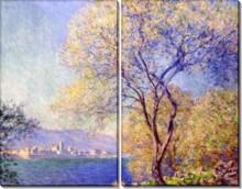 Антиб, вид из сада Салис, 1888 - Моне, Клод