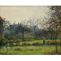 Утреннее солнце, осень, 1897 - Писсарро, Камиль