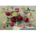 Букет роз, 1922 - Ложе,  Ашиль