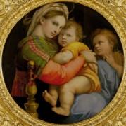 Мадонна с Младенцем и маленьким Иоанном Крестителем - Рафаэль, Санти