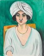 Женщина в тюрбане (Лоретта) - Матисс, Анри