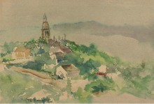 Сельский пейзаж, 1892 - Робинсон, Теодор