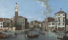 Вид на Большой канал, Венеция - Джеймс, Уильям