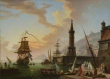 Морской порт - Верне, Клод Жозеф