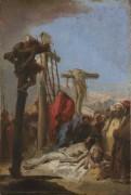 Оплакивание у подножия Креста (1) - Тьеполо, Джованни Баттиста