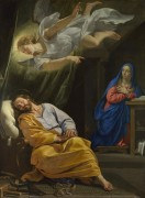 Сон святого Иосифа - Шампень, Филипп де
