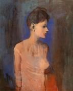 Женщина в рубашке, 1905 - Пикассо, Пабло