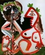 Сидящая пара, 1970 - Пикассо, Пабло