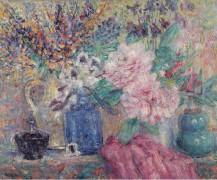 Цветы и духи, 1907 -  Моррен, Джордж