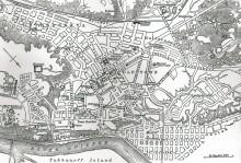 Карта Киева из Британники