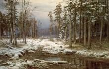 Первый снег - Шишкин, Иван Иванович