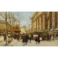 Цветочные лавки в Париже - Гальен-Лалу, Эжен