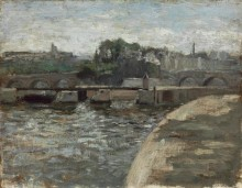 Запруда у Нового моста - Матисс, Анри