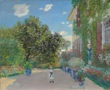 Дом художника в Аржантее - Моне, Клод