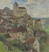 Вид на Сен-Сирк-Лапопи - Мартен, Анри Жан Гийом