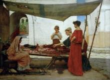 Греческий цветочный рынок - Уотерхаус, Джон Уильям