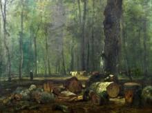 Лесной пейзаж - Труайон, Констан
