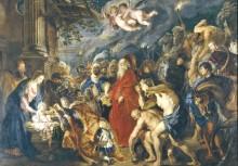 Поклонение волхвов, 1609-1628 -  Рубенс, Питер Пауль