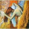 Женщина вытираясь,1905 - Дега, Эдгар