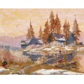 В конце зимы - Коровин, Константин Алексеевич