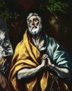 Кающийся святой Петр - Греко, Эль