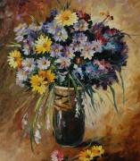 Букет цветов - Афремов, Леонид (20 век)