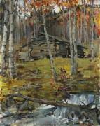 Осенние деревья, Твиннинг - Фешин, Николай Иванович