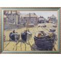 Пляж во время отлива, 1927 -  Уиггинс, Гай Кэрлтон