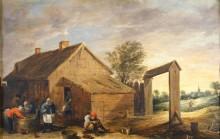 В деревне, 1650 -  Тенирс, Давид