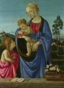 Мадонна с младенцем и святым Иоанном - Липпи, Филиппино