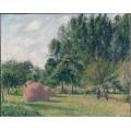 Стога, утро, Эрани, 1899 - Писсарро, Камиль