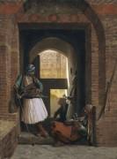 Штаб гвардии арнаутов в Каире - Жером, Жан-Леон