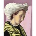 Женщина в белой чалме II - Лемпицка, Тамара