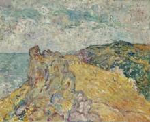 Прибрежный пейзаж со скалами - Вальта, Луи