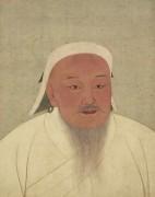 Чингисхан. Портрет времён династии Юань, XIV в.