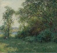 Бауэр (The Bower), 1907 - Меткалф, Уиллард Лерой