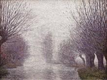 Ивы возле мельницы, 1902 - Кариот, Густав