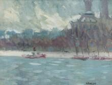 Вид с реки (View from the River) - Хьютон, Рендольф