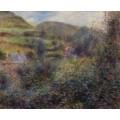 Пейзаж в окрестностях Берневаля - Ренуар, Пьер Огюст