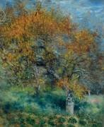 Грушевые деревья - Ренуар, Пьер Огюст