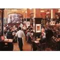 Интерьер кафе - Борелли, Гвидо (20 век)