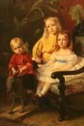 Портрет детей Стасовых - Маковский, Константин Егорович