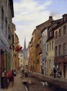 Приходская улица в Берлине - Гертнер , Эдуард