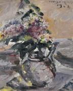 Сирень в стеклянном кувшине, 1923 - Коринт, Ловис