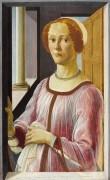 Портрет женщины (возможно Смеральда Брандини) - Боттичелли, Сандро