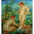 Две купальщицы - Ренуар, Пьер Огюст