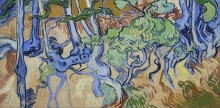 Корни и стволы деревьев (Roots and Tree Trunks), 1890 - Гог, Винсент ван
