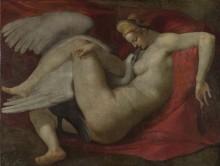 Леда и лебедь - Караваджо, Микеланджело Меризи да